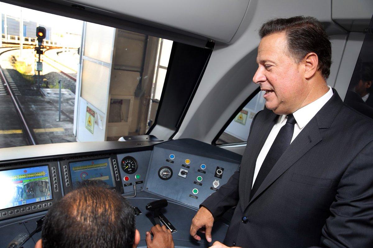 Tren de cinco vagones de la Línea 1 del Metro inicia operaciones