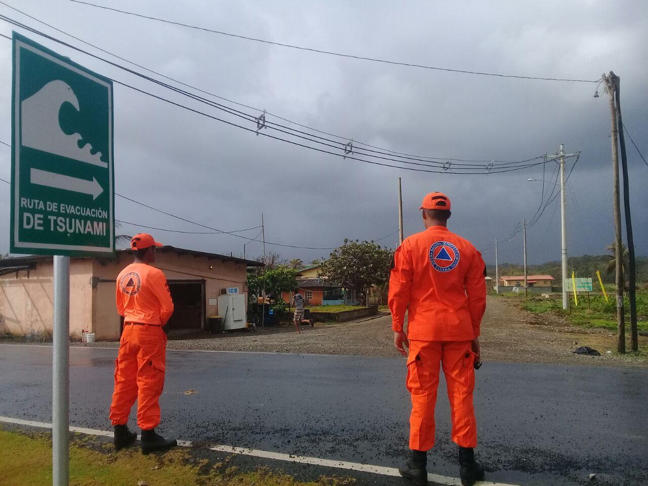 Panamá participa en simulacro internacional de tsunami Caribe Wave 2018