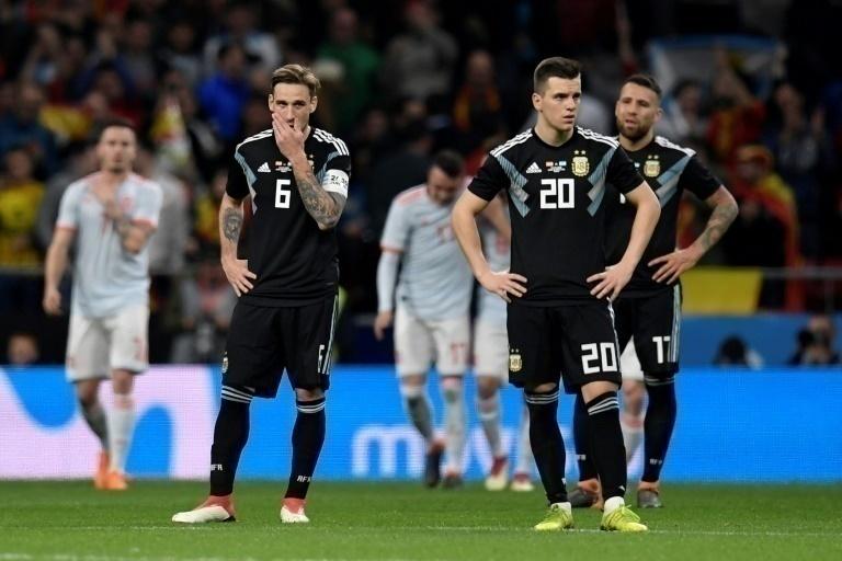 Argentina cayó 6 a 1 ante España — Preocupación mundial