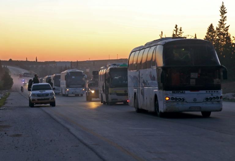 Nuevos retrasos en las evacuaciones de Guta Oriental en Siria