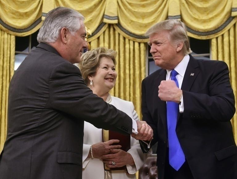 Exsecretario de Estado Rex Tillerson dijo que Trump es