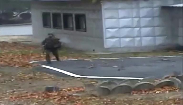 Naciones Unidas muestra el vídeo de la deserción del soldado norcoreano