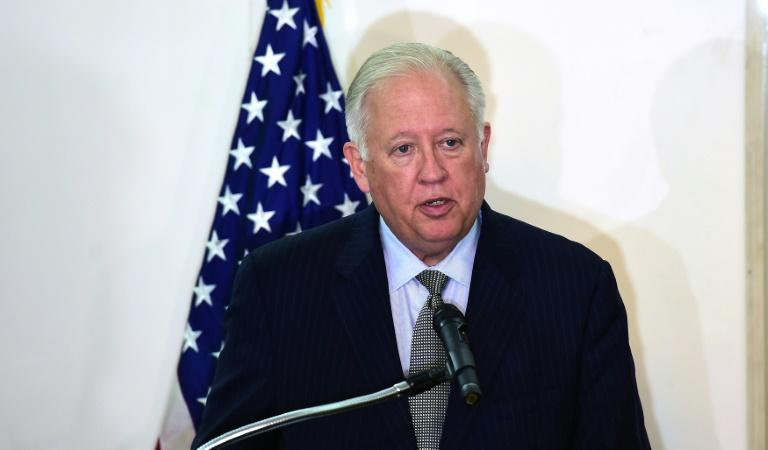 Tomas Shanon se retira del Departamento de Estado