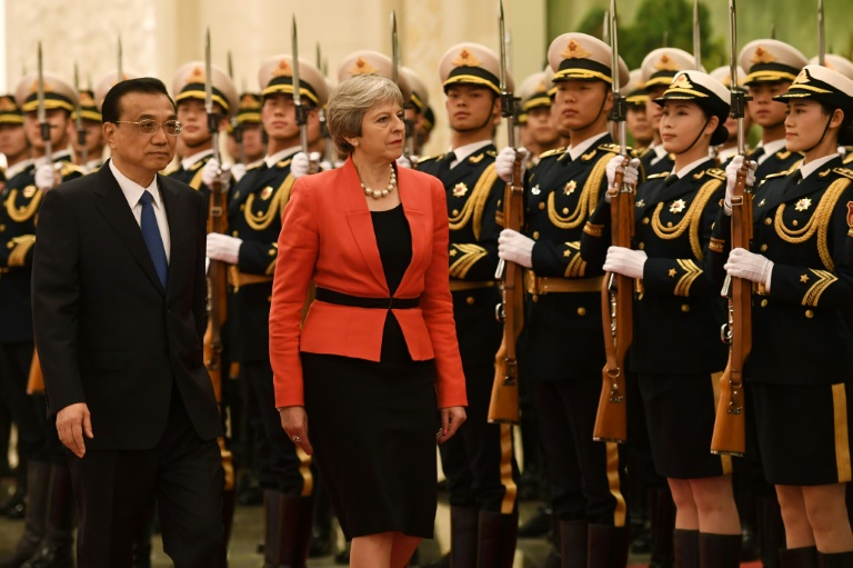 Reino Unido busca a China por Brexit