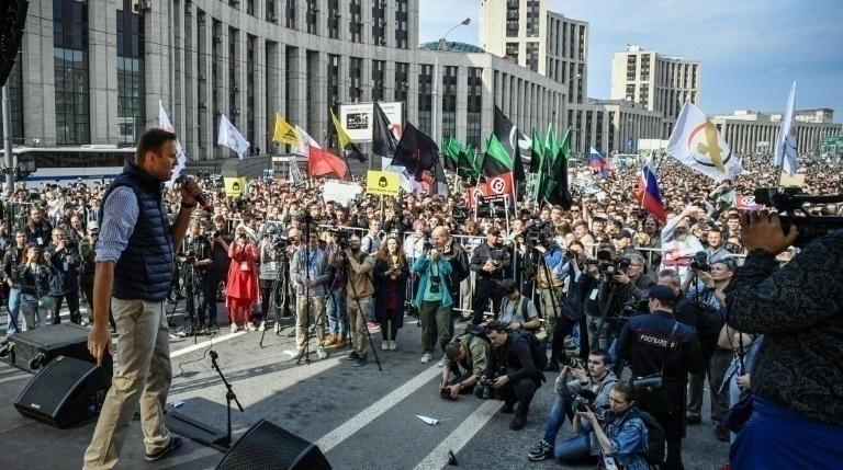 Más de 300 detenidos dejan protestan contra el presidente Putin — Rusia