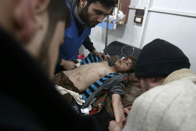 Mueren 28 personas en bombardeos en Siria