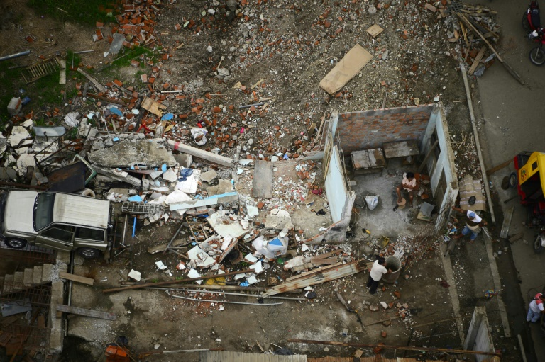 Ecuador: Sismo de magnitud 6 sacude provincia del Manabí