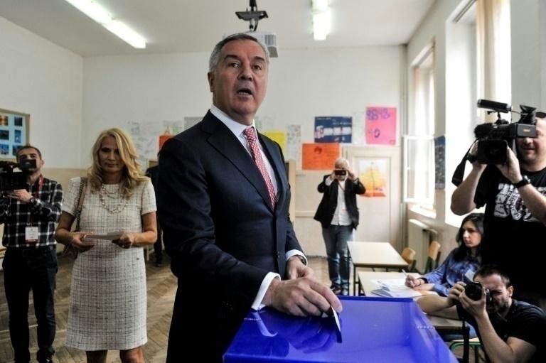 Dukanovic canta victoria en las presidenciales en Montenegro