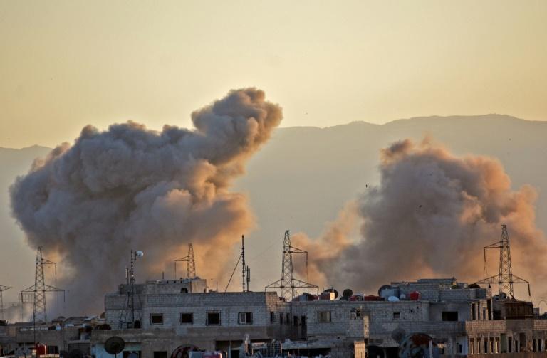 Murieron casi 150 personas tras nueve días de combates en Damasco