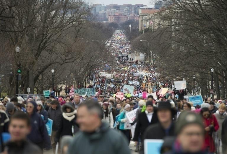 Organizan marcha contra Trump