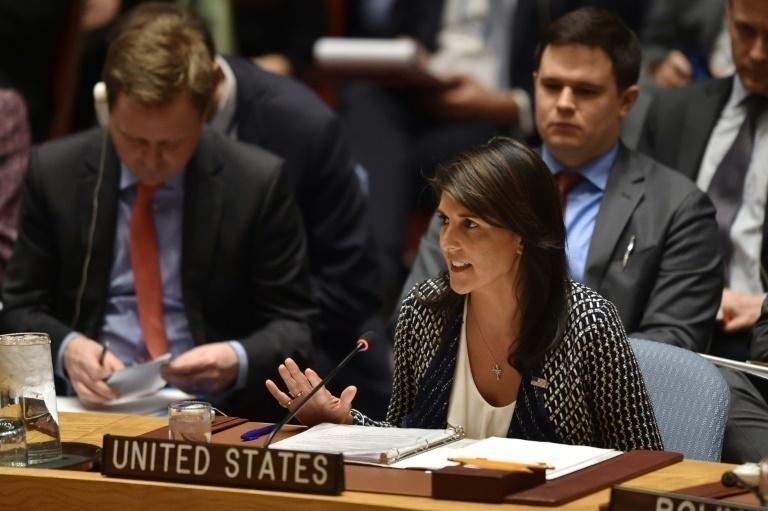 Embajadora de Estados Unidos pidió la renuncia de Maduro