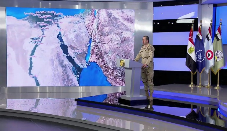 Egipto lanza operación 'Sinaí 2018' para acabar con terroristas