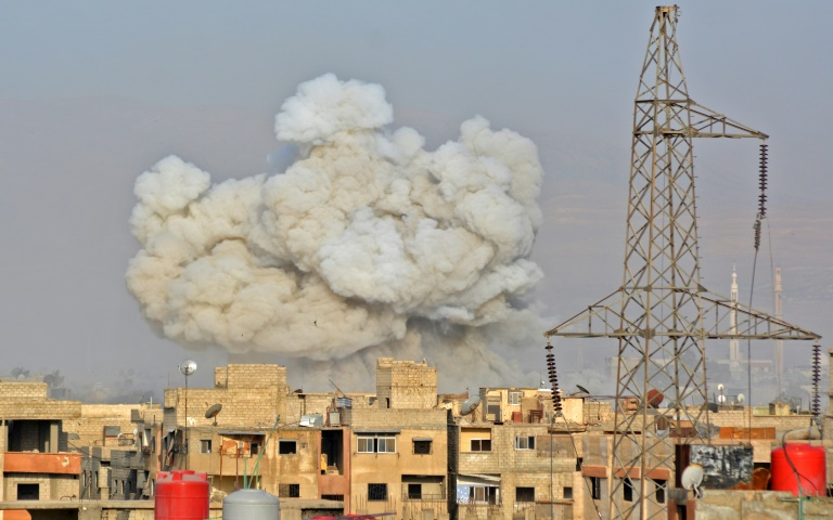 Fuerza Aérea Iraquí bombardeó posiciones de ISIS en Siria