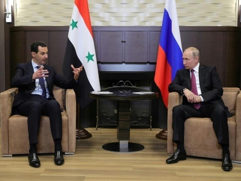 "Vladimir Putin respaldó a Bashar al Asad: ""Las fuerzas extranjeras se retirarán de Siria"""