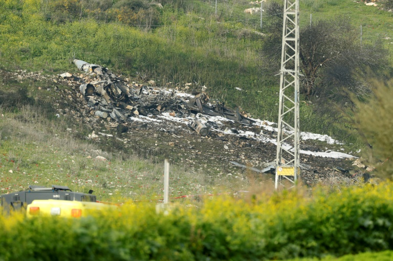 Israel derriba dron iraní enviado desde Siria — YouTube