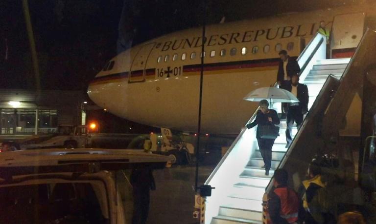 G20: el avión de Angela Merkel regresó a Alemania por problema técnico