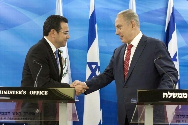 Trasladará Guatemala su embajada a Jerusalén