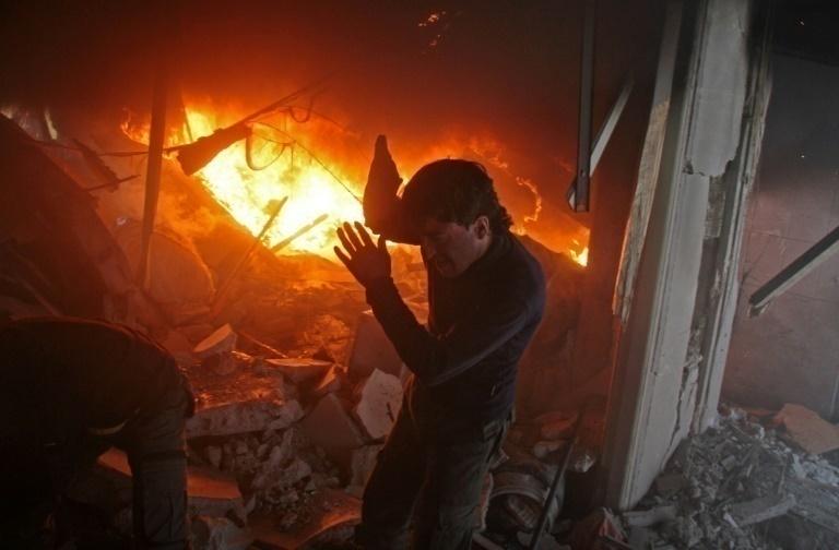 Bombardeos contra feudo opositor en Damasco dejan 28 muertos — Siria
