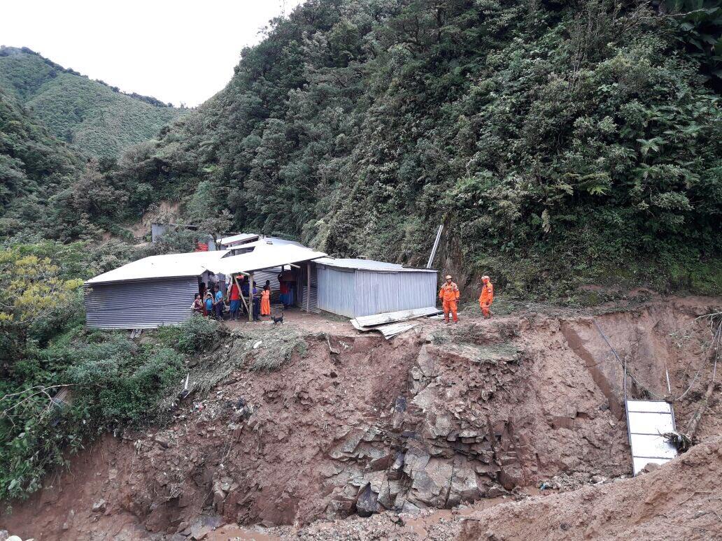 Sinaproc recupera los cuerpos de las víctimas en Cerro Colorado