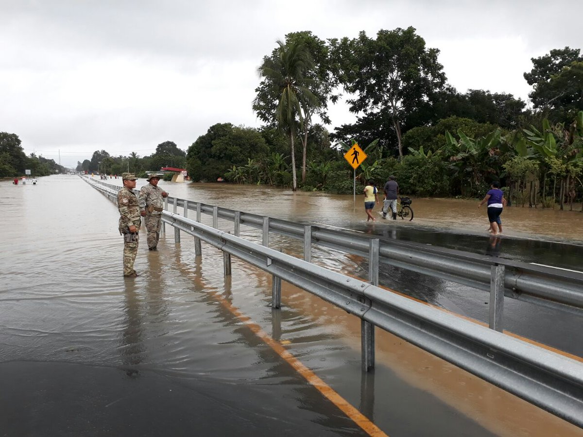 Tormenta Nate dejó cerca de 5 mil personas afectadas en Panamá